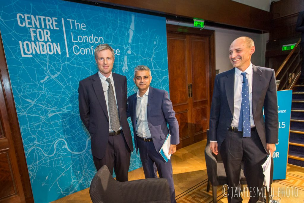 Photo of Ben Rogers, Zac Goldsmith and Sadiq Khan