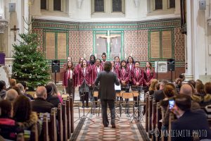 Photo of school choir