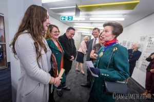 Photography of HRH Princess Anne at London event